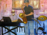 The jazz musicians
