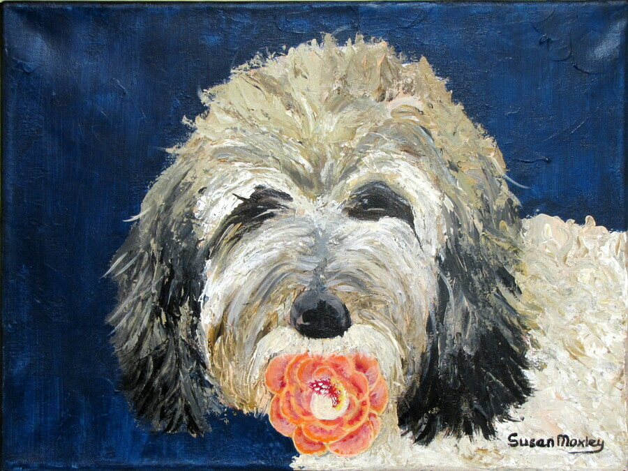 Sue Moxley's Art - For Sale - Cards - The Gift
